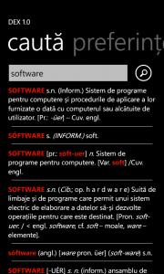 DEX pentru Windows Phone